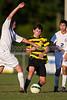 Mt Tabor Spartans vs RJR Demons Men's Varsity Soccer<br /> Forsyth Cup Soccer Tournament Consolation Match<br /> Saturday, August 24, 2013 at West Forsyth High School<br /> Clemmons, North Carolina<br /> (file 190455_BV0H4133_1D4)