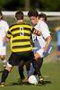 Mt Tabor Spartans vs RJR Demons Men's Varsity Soccer<br /> Forsyth Cup Soccer Tournament Consolation Match<br /> Saturday, August 24, 2013 at West Forsyth High School<br /> Clemmons, North Carolina<br /> (file 180140_BV0H3838_1D4)