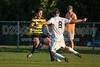 Mt Tabor Spartans vs RJR Demons Men's Varsity Soccer<br /> Forsyth Cup Soccer Tournament Consolation Match<br /> Saturday, August 24, 2013 at West Forsyth High School<br /> Clemmons, North Carolina<br /> (file 191235_QE6Q1107_1D2N)