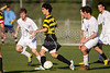 Mt Tabor Spartans vs RJR Demons Men's Varsity Soccer<br /> Forsyth Cup Soccer Tournament Consolation Match<br /> Saturday, August 24, 2013 at West Forsyth High School<br /> Clemmons, North Carolina<br /> (file 182357_BV0H3930_1D4)