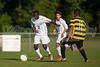 Mt Tabor Spartans vs RJR Demons Men's Varsity Soccer<br /> Forsyth Cup Soccer Tournament Consolation Match<br /> Saturday, August 24, 2013 at West Forsyth High School<br /> Clemmons, North Carolina<br /> (file 181044_QE6Q1011_1D2N)