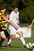 Mt Tabor Spartans vs RJR Demons Men's Varsity Soccer<br /> Forsyth Cup Soccer Tournament Consolation Match<br /> Saturday, August 24, 2013 at West Forsyth High School<br /> Clemmons, North Carolina<br /> (file 180143_BV0H3842_1D4)