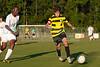Mt Tabor Spartans vs RJR Demons Men's Varsity Soccer<br /> Forsyth Cup Soccer Tournament Consolation Match<br /> Saturday, August 24, 2013 at West Forsyth High School<br /> Clemmons, North Carolina<br /> (file 190604_803Q4528_1D3)