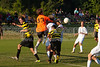 Mt Tabor Spartans vs RJR Demons Men's Varsity Soccer<br /> Forsyth Cup Soccer Tournament Consolation Match<br /> Saturday, August 24, 2013 at West Forsyth High School<br /> Clemmons, North Carolina<br /> (file 182933_803Q4489_1D3)