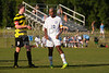 Mt Tabor Spartans vs RJR Demons Men's Varsity Soccer<br /> Forsyth Cup Soccer Tournament Consolation Match<br /> Saturday, August 24, 2013 at West Forsyth High School<br /> Clemmons, North Carolina<br /> (file 181833_803Q4463_1D3)