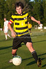 Mt Tabor Spartans vs RJR Demons Men's Varsity Soccer<br /> Forsyth Cup Soccer Tournament Consolation Match<br /> Saturday, August 24, 2013 at West Forsyth High School<br /> Clemmons, North Carolina<br /> (file 191001_803Q4541_1D3)
