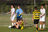 Mt Tabor Spartans vs RJR Demons Men's Varsity Soccer<br /> Forsyth Cup Soccer Tournament Consolation Match<br /> Saturday, August 24, 2013 at West Forsyth High School<br /> Clemmons, North Carolina<br /> (file 182428_BV0H3937_1D4)