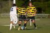 Mt Tabor Spartans vs RJR Demons Men's Varsity Soccer<br /> Forsyth Cup Soccer Tournament Consolation Match<br /> Saturday, August 24, 2013 at West Forsyth High School<br /> Clemmons, North Carolina<br /> (file 185532_BV0H4058_1D4)