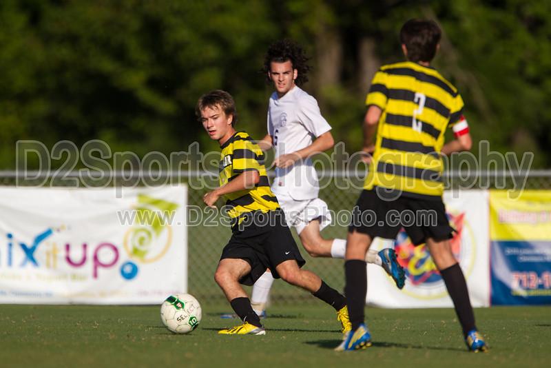 Mt Tabor Spartans vs RJR Demons Men's Varsity Soccer<br /> Forsyth Cup Soccer Tournament Consolation Match<br /> Saturday, August 24, 2013 at West Forsyth High School<br /> Clemmons, North Carolina<br /> (file 181408_BV0H3895_1D4)