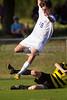 Mt Tabor Spartans vs RJR Demons Men's Varsity Soccer<br /> Forsyth Cup Soccer Tournament Consolation Match<br /> Saturday, August 24, 2013 at West Forsyth High School<br /> Clemmons, North Carolina<br /> (file 181122_BV0H3884_1D4)