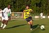 Mt Tabor Spartans vs RJR Demons Men's Varsity Soccer<br /> Forsyth Cup Soccer Tournament Consolation Match<br /> Saturday, August 24, 2013 at West Forsyth High School<br /> Clemmons, North Carolina<br /> (file 190604_803Q4529_1D3)