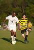 Mt Tabor Spartans vs RJR Demons Men's Varsity Soccer<br /> Forsyth Cup Soccer Tournament Consolation Match<br /> Saturday, August 24, 2013 at West Forsyth High School<br /> Clemmons, North Carolina<br /> (file 190940_803Q4532_1D3)