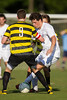 Mt Tabor Spartans vs RJR Demons Men's Varsity Soccer<br /> Forsyth Cup Soccer Tournament Consolation Match<br /> Saturday, August 24, 2013 at West Forsyth High School<br /> Clemmons, North Carolina<br /> (file 180140_BV0H3837_1D4)