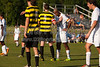 Mt Tabor Spartans vs RJR Demons Men's Varsity Soccer<br /> Forsyth Cup Soccer Tournament Consolation Match<br /> Saturday, August 24, 2013 at West Forsyth High School<br /> Clemmons, North Carolina<br /> (file 181143_803Q4424_1D3)