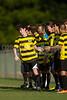 Mt Tabor Spartans vs RJR Demons Men's Varsity Soccer<br /> Forsyth Cup Soccer Tournament Consolation Match<br /> Saturday, August 24, 2013 at West Forsyth High School<br /> Clemmons, North Carolina<br /> (file 175603_BV0H3807_1D4)