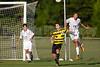 Mt Tabor Spartans vs RJR Demons Men's Varsity Soccer<br /> Forsyth Cup Soccer Tournament Consolation Match<br /> Saturday, August 24, 2013 at West Forsyth High School<br /> Clemmons, North Carolina<br /> (file 183045_BV0H3973_1D4)