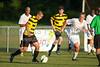 Mt Tabor Spartans vs RJR Demons Men's Varsity Soccer<br /> Forsyth Cup Soccer Tournament Consolation Match<br /> Saturday, August 24, 2013 at West Forsyth High School<br /> Clemmons, North Carolina<br /> (file 190123_QE6Q1091_1D2N)