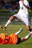 Mt Tabor Spartans vs RJR Demons Men's Varsity Soccer<br /> Forsyth Cup Soccer Tournament Consolation Match<br /> Saturday, August 24, 2013 at West Forsyth High School<br /> Clemmons, North Carolina<br /> (file 181732_BV0H3909_1D4)