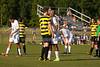 Mt Tabor Spartans vs RJR Demons Men's Varsity Soccer<br /> Forsyth Cup Soccer Tournament Consolation Match<br /> Saturday, August 24, 2013 at West Forsyth High School<br /> Clemmons, North Carolina<br /> (file 181755_803Q4462_1D3)