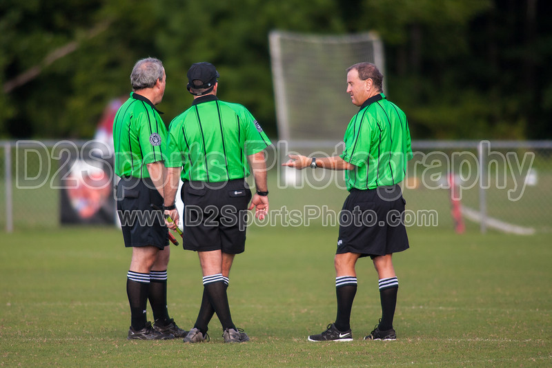 Mt Tabor Spartans vs RJR Demons Men's Varsity Soccer<br /> Forsyth Cup Soccer Tournament Consolation Match<br /> Saturday, August 24, 2013 at West Forsyth High School<br /> Clemmons, North Carolina<br /> (file 174440_QE6Q0981_1D2N)