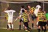 Mt Tabor Spartans vs RJR Demons Men's Varsity Soccer<br /> Forsyth Cup Soccer Tournament Consolation Match<br /> Saturday, August 24, 2013 at West Forsyth High School<br /> Clemmons, North Carolina<br /> (file 193450_BV0H4237_1D4)