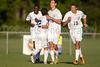 Mt Tabor Spartans vs RJR Demons Men's Varsity Soccer<br /> Forsyth Cup Soccer Tournament Consolation Match<br /> Saturday, August 24, 2013 at West Forsyth High School<br /> Clemmons, North Carolina<br /> (file 185511_BV0H4056_1D4)