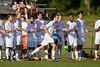 Mt Tabor Spartans vs RJR Demons Men's Varsity Soccer<br /> Forsyth Cup Soccer Tournament Consolation Match<br /> Saturday, August 24, 2013 at West Forsyth High School<br /> Clemmons, North Carolina<br /> (file 175621_BV0H3812_1D4)