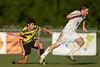 Mt Tabor Spartans vs RJR Demons Men's Varsity Soccer<br /> Forsyth Cup Soccer Tournament Consolation Match<br /> Saturday, August 24, 2013 at West Forsyth High School<br /> Clemmons, North Carolina<br /> (file 190200_BV0H4105_1D4)