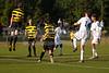 Mt Tabor Spartans vs RJR Demons Men's Varsity Soccer<br /> Forsyth Cup Soccer Tournament Consolation Match<br /> Saturday, August 24, 2013 at West Forsyth High School<br /> Clemmons, North Carolina<br /> (file 181217_803Q4430_1D3)