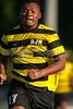 Mt Tabor Spartans vs RJR Demons Men's Varsity Soccer<br /> Forsyth Cup Soccer Tournament Consolation Match<br /> Saturday, August 24, 2013 at West Forsyth High School<br /> Clemmons, North Carolina<br /> (file 181605_QE6Q1023_1D2N)