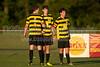 Mt Tabor Spartans vs RJR Demons Men's Varsity Soccer<br /> Forsyth Cup Soccer Tournament Consolation Match<br /> Saturday, August 24, 2013 at West Forsyth High School<br /> Clemmons, North Carolina<br /> (file 191633_BV0H4176_1D4)