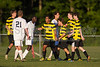 Mt Tabor Spartans vs RJR Demons Men's Varsity Soccer<br /> Forsyth Cup Soccer Tournament Consolation Match<br /> Saturday, August 24, 2013 at West Forsyth High School<br /> Clemmons, North Carolina<br /> (file 190033_BV0H4091_1D4)