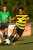 Mt Tabor Spartans vs RJR Demons Men's Varsity Soccer<br /> Forsyth Cup Soccer Tournament Consolation Match<br /> Saturday, August 24, 2013 at West Forsyth High School<br /> Clemmons, North Carolina<br /> (file 190754_BV0H4147_1D4)