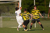 Mt Tabor Spartans vs RJR Demons Men's Varsity Soccer<br /> Forsyth Cup Soccer Tournament Consolation Match<br /> Saturday, August 24, 2013 at West Forsyth High School<br /> Clemmons, North Carolina<br /> (file 185532_BV0H4059_1D4)