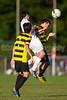 Mt Tabor Spartans vs RJR Demons Men's Varsity Soccer<br /> Forsyth Cup Soccer Tournament Consolation Match<br /> Saturday, August 24, 2013 at West Forsyth High School<br /> Clemmons, North Carolina<br /> (file 190102_BV0H4098_1D4)