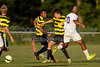 Mt Tabor Spartans vs RJR Demons Men's Varsity Soccer<br /> Forsyth Cup Soccer Tournament Consolation Match<br /> Saturday, August 24, 2013 at West Forsyth High School<br /> Clemmons, North Carolina<br /> (file 190907_BV0H4155_1D4)