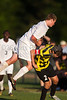 Mt Tabor Spartans vs RJR Demons Men's Varsity Soccer<br /> Forsyth Cup Soccer Tournament Consolation Match<br /> Saturday, August 24, 2013 at West Forsyth High School<br /> Clemmons, North Carolina<br /> (file 185826_BV0H4080_1D4)