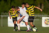 Mt Tabor Spartans vs RJR Demons Men's Varsity Soccer<br /> Forsyth Cup Soccer Tournament Consolation Match<br /> Saturday, August 24, 2013 at West Forsyth High School<br /> Clemmons, North Carolina<br /> (file 190227_BV0H4109_1D4)