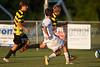 Mt Tabor Spartans vs RJR Demons Men's Varsity Soccer<br /> Forsyth Cup Soccer Tournament Consolation Match<br /> Saturday, August 24, 2013 at West Forsyth High School<br /> Clemmons, North Carolina<br /> (file 192358_BV0H4197_1D4)