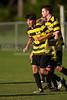 Mt Tabor Spartans vs RJR Demons Men's Varsity Soccer<br /> Forsyth Cup Soccer Tournament Consolation Match<br /> Saturday, August 24, 2013 at West Forsyth High School<br /> Clemmons, North Carolina<br /> (file 182512_BV0H3943_1D4)