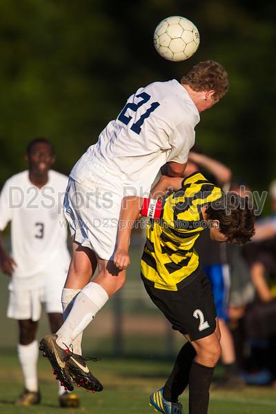 Mt Tabor Spartans vs RJR Demons Men's Varsity Soccer<br /> Forsyth Cup Soccer Tournament Consolation Match<br /> Saturday, August 24, 2013 at West Forsyth High School<br /> Clemmons, North Carolina<br /> (file 185826_BV0H4079_1D4)