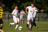 Mt Tabor Spartans vs RJR Demons Men's Varsity Soccer<br /> Forsyth Cup Soccer Tournament Consolation Match<br /> Saturday, August 24, 2013 at West Forsyth High School<br /> Clemmons, North Carolina<br /> (file 181942_BV0H3918_1D4)