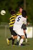 Mt Tabor Spartans vs RJR Demons Men's Varsity Soccer<br /> Forsyth Cup Soccer Tournament Consolation Match<br /> Saturday, August 24, 2013 at West Forsyth High School<br /> Clemmons, North Carolina<br /> (file 185725_BV0H4069_1D4)