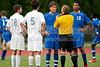 Mt Tabor Spartans vs Ragsdale Tigers Men's Varsity Soccer<br /> Mt Tabor 3 Ragsdale 1<br /> Monday, August 16, 2010 at Mt Tabor High School<br /> Winston-Salem, NC<br /> (file 191035_803Q4929_1D3)
