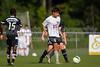 Reagan Raiders vs North Forsyth Vikings Men's Varsity Soccer<br /> Forsyth Cup Soccer Tournament<br /> Friday, August 23, 2013 at West Forsyth High School<br /> Clemmons, North Carolina<br /> (file 172536_BV0H3187_1D4)