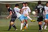 Reagan Raiders vs North Forsyth Vikings Men's Varsity Soccer<br /> Forsyth Cup Soccer Tournament<br /> Friday, August 23, 2013 at West Forsyth High School<br /> Clemmons, North Carolina<br /> (file 172529_BV0H3185_1D4)
