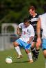 Reagan Raiders vs North Forsyth Vikings Men's Varsity Soccer<br /> Forsyth Cup Soccer Tournament<br /> Friday, August 23, 2013 at West Forsyth High School<br /> Clemmons, North Carolina<br /> (file 172731_BV0H3189_1D4)