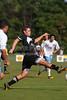 Reagan Raiders vs North Forsyth Vikings Men's Varsity Soccer<br /> Forsyth Cup Soccer Tournament<br /> Friday, August 23, 2013 at West Forsyth High School<br /> Clemmons, North Carolina<br /> (file 172402_803Q4309_1D3)
