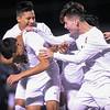 Menlo-Atherton Boys Soccer defeats Palo Alto High,  February 22, 2017.