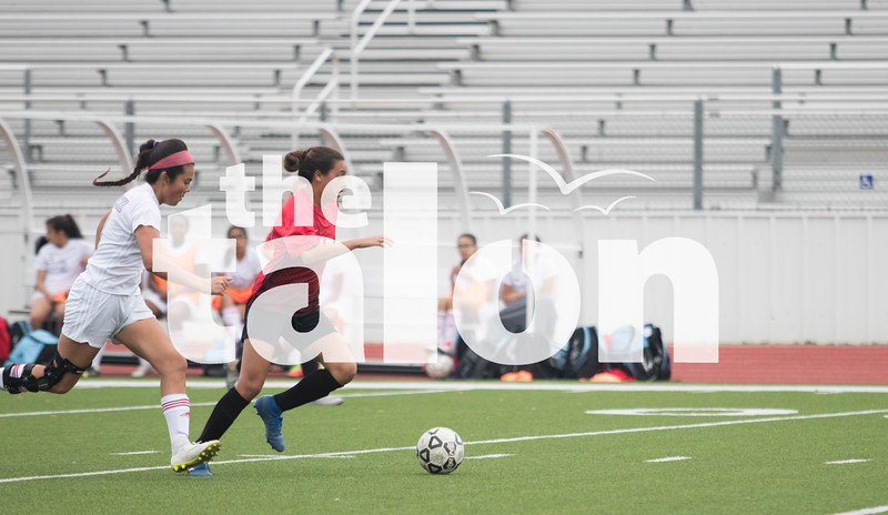 Lady Eagles soccer takes on Hirschi at Argyle High School in Argyle, Texas on 2-6-19. (Jaclyn Harris/ The Talon News)